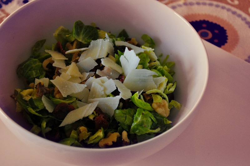 Beauty Boosting Brussels Sprout Salad Recipe
