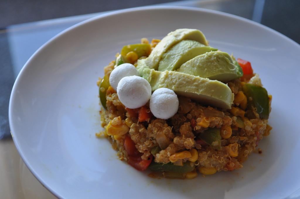Mexican Quinoa Balls