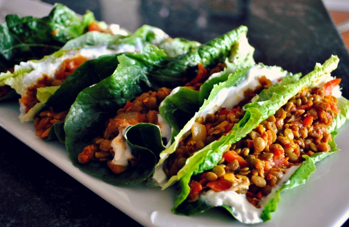 Vegan and Gluten Free Lentil Tacos