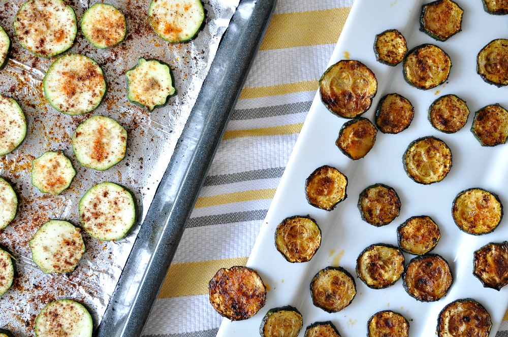 5 Ingredient Zucchini Chips