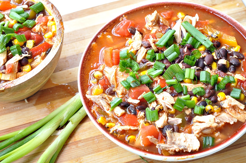 "Setting The Record Straight About My ""Diet"" + Healthier Tortilla Soup"