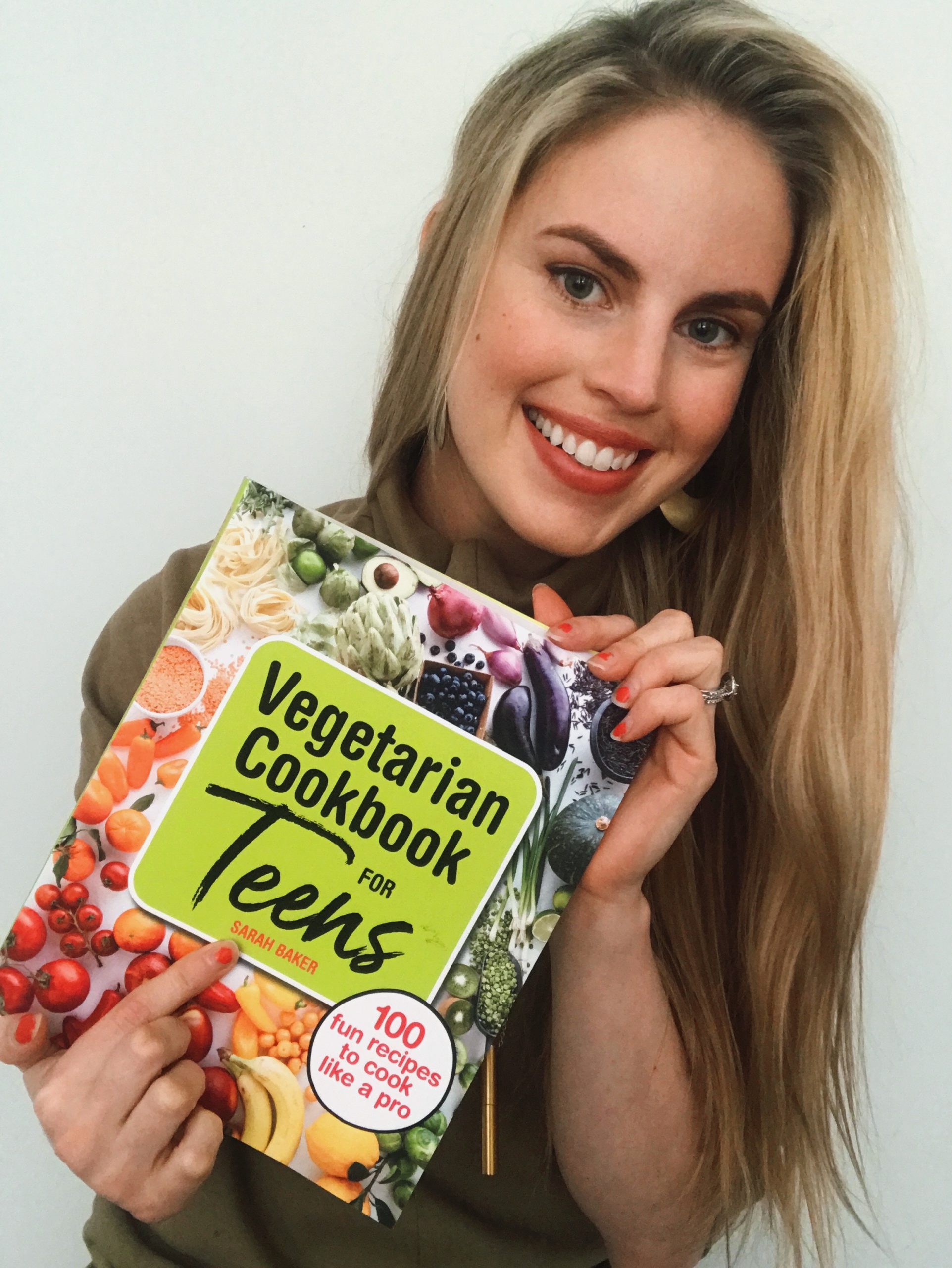 My First Book! The Vegetarian Cookbook For Teens!